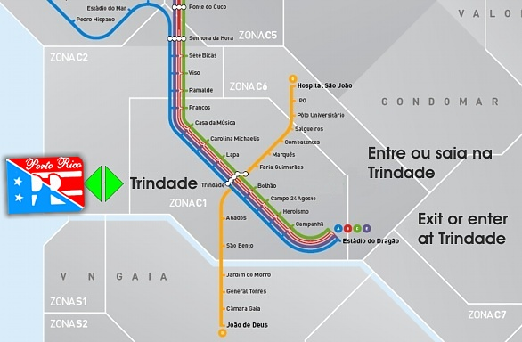rua do almada porto mapa Residencial Porto Rico Guest House Porto Location and Local Maps rua do almada porto mapa